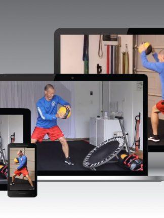 rebounder training