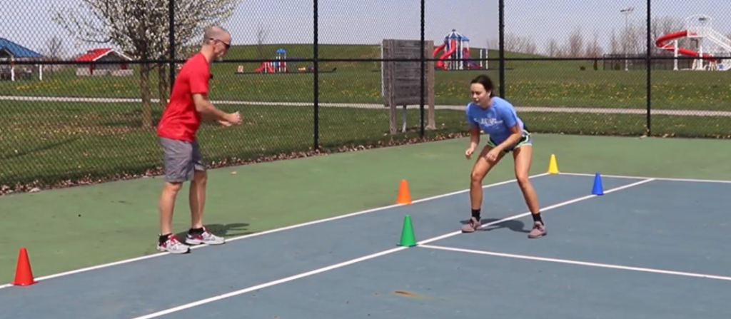 tennis speed alley drill